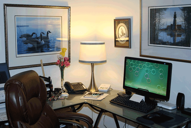 home office decorating tips